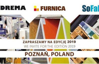 Zespół targów DREMA przejmuje targi FURNICA i SoFab!