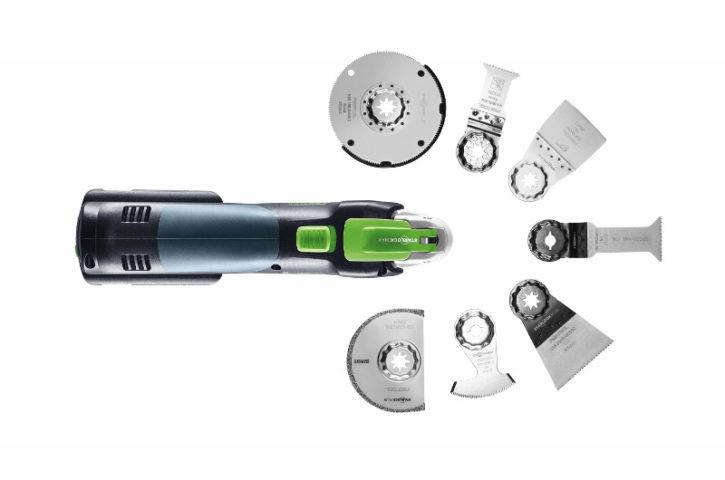 """Precyzyjne cięcia na """"rysę"""" Z nowym akumulatorowym urządzeniem wielofunkcyjnym Vecturo OSC 18 Festool"""