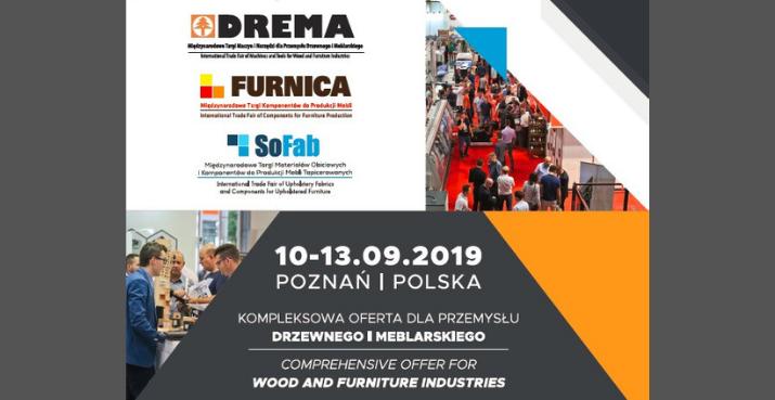 DREMA 2019 – wyczekiwane spotkanie sektora przemysłu drzewno-meblarskiego